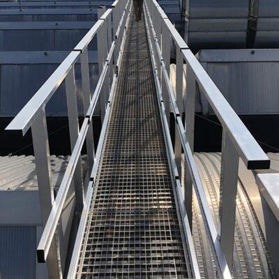 pasarelas industriales aluminio