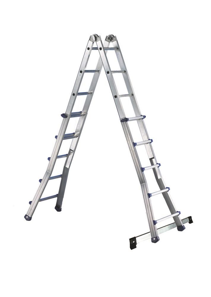 Escalera de aluminio telescópica