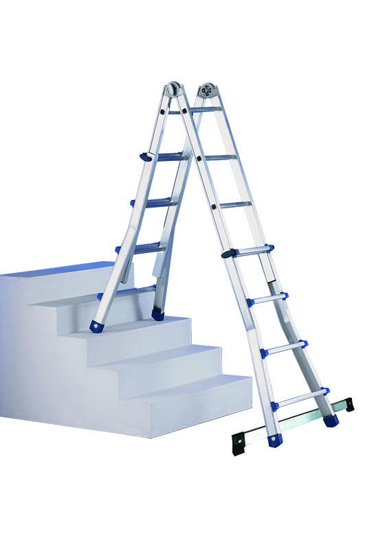Escalera aluminio telescópica | Safeway360