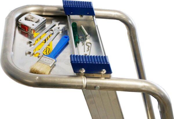 Escalera para almacén con ruedas | Producto Safeway360