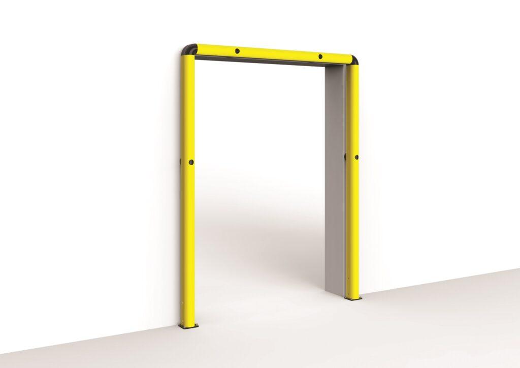 Protección de puertas industriales FULL FRAME   Safeway360