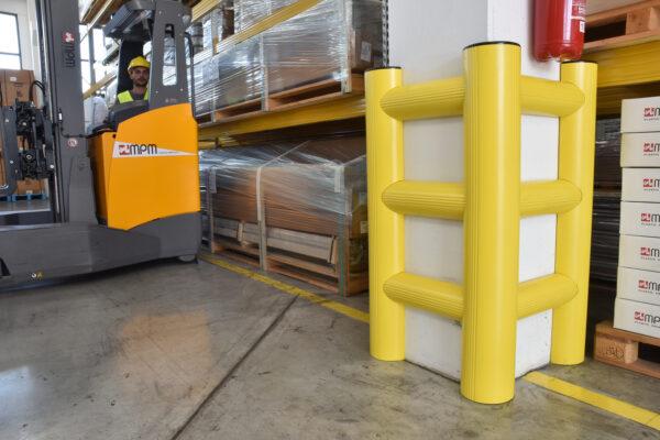 Protección flexible para columnas   Safeway360