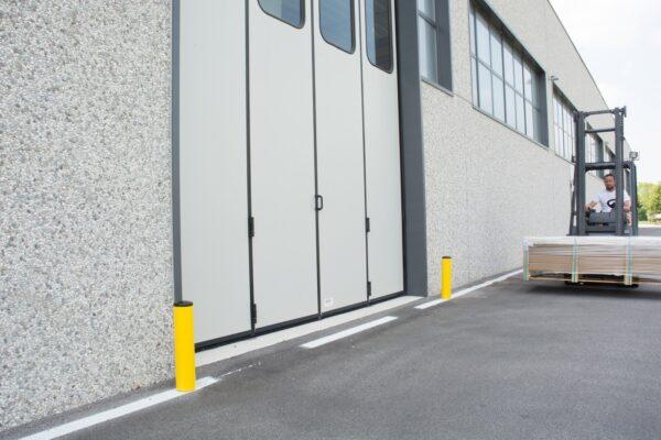 Bolardo para cargas pesadas ROD PE 70/120   Safeway360